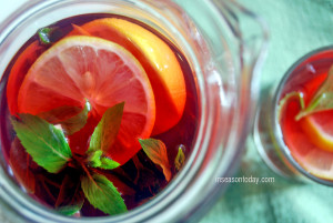 apple and raspberry iced tea 5