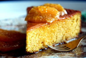 orange and almond cake 1