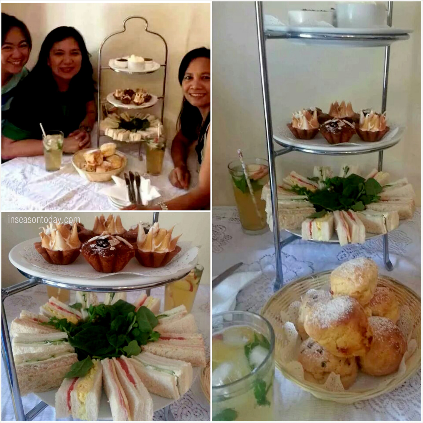 High tea time!