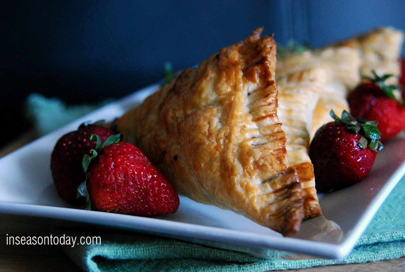 Chocolate Hazelnut Turnovers 1