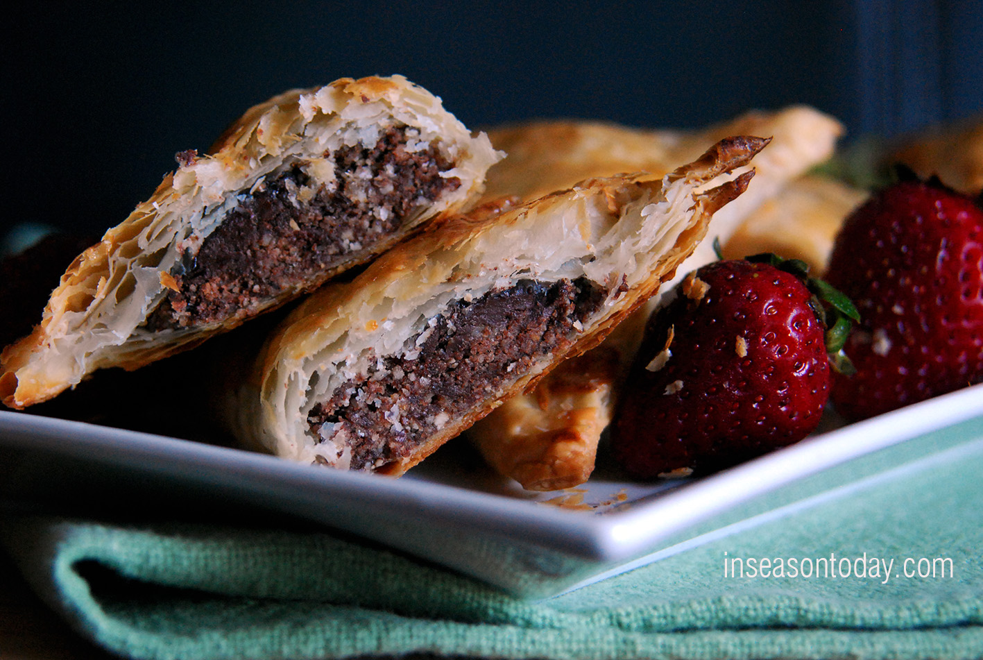 Chocolate Hazelnut Turnovers 4