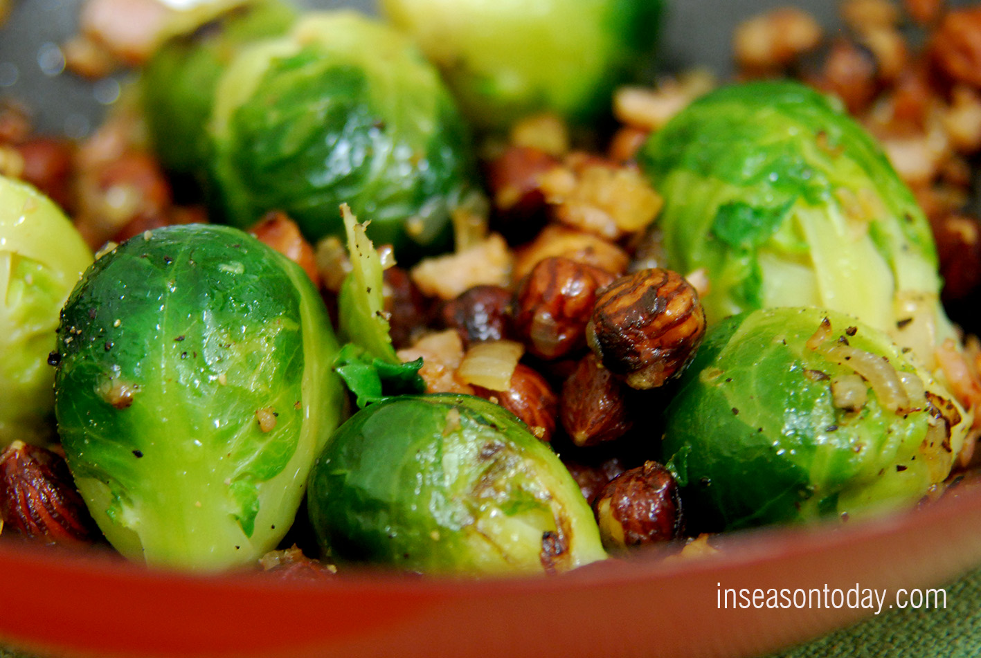 Nutty Brussel Sprouts 1