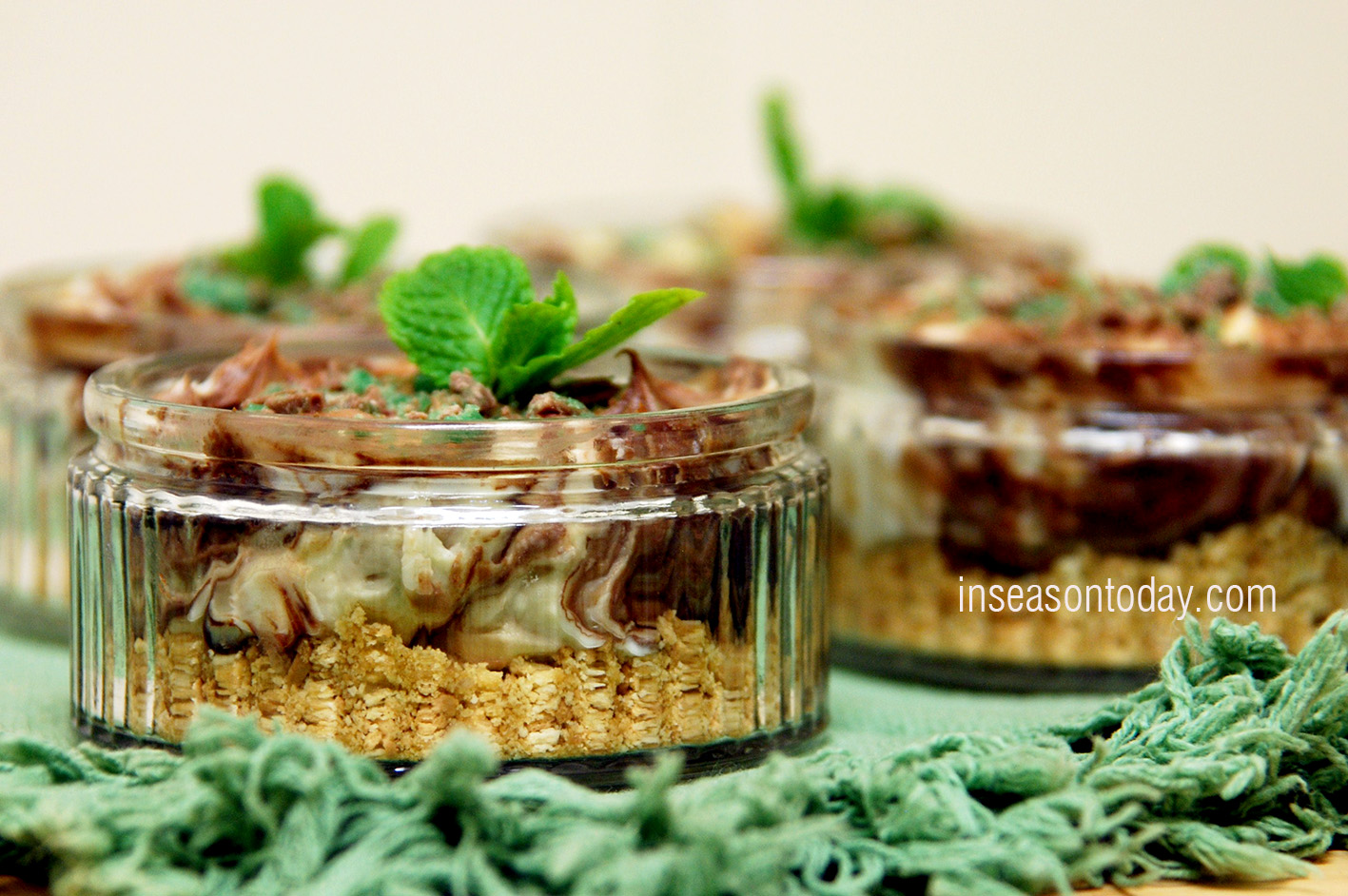 Lindt after dinner mint cheesecake 5