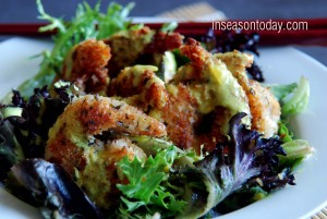 coconut prawns with chilli lime dressing 4
