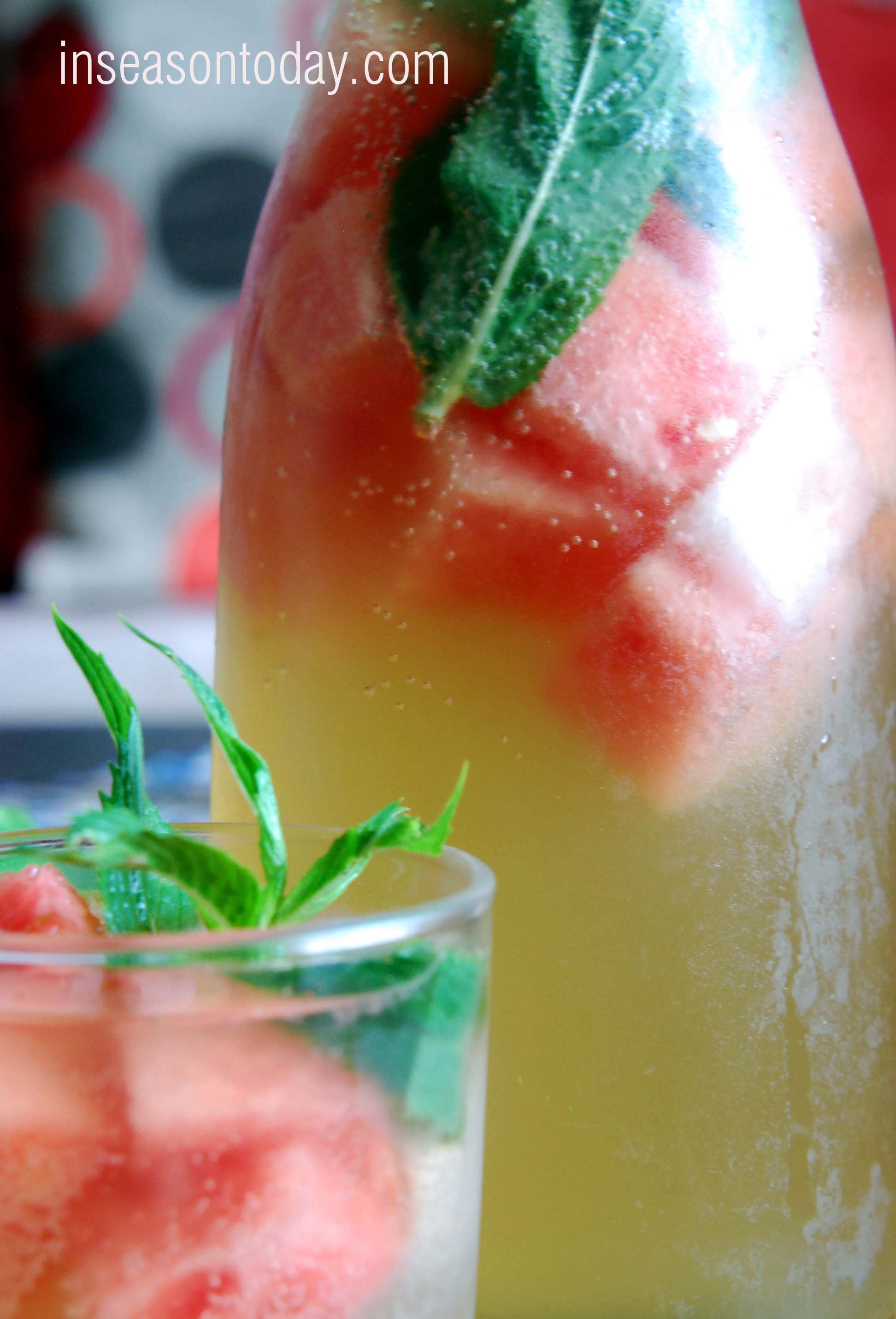 watermelon ginger pineapple punch