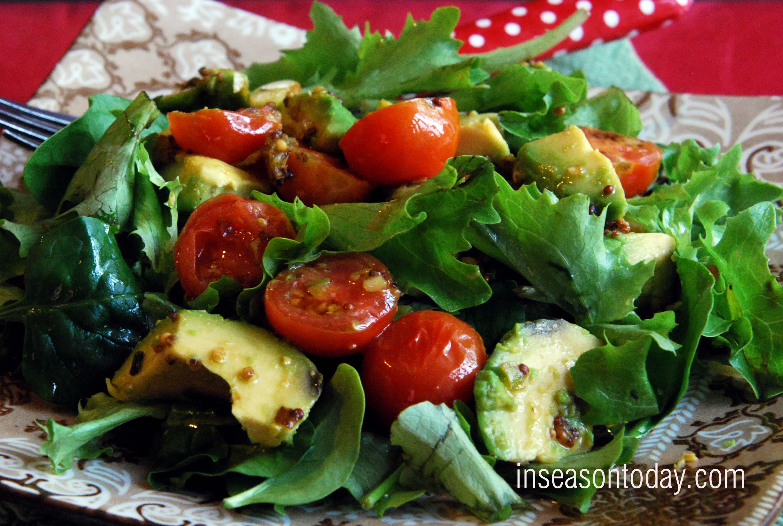 In season now warm avocado salad in season today hot avocado salad 2 sciox Images