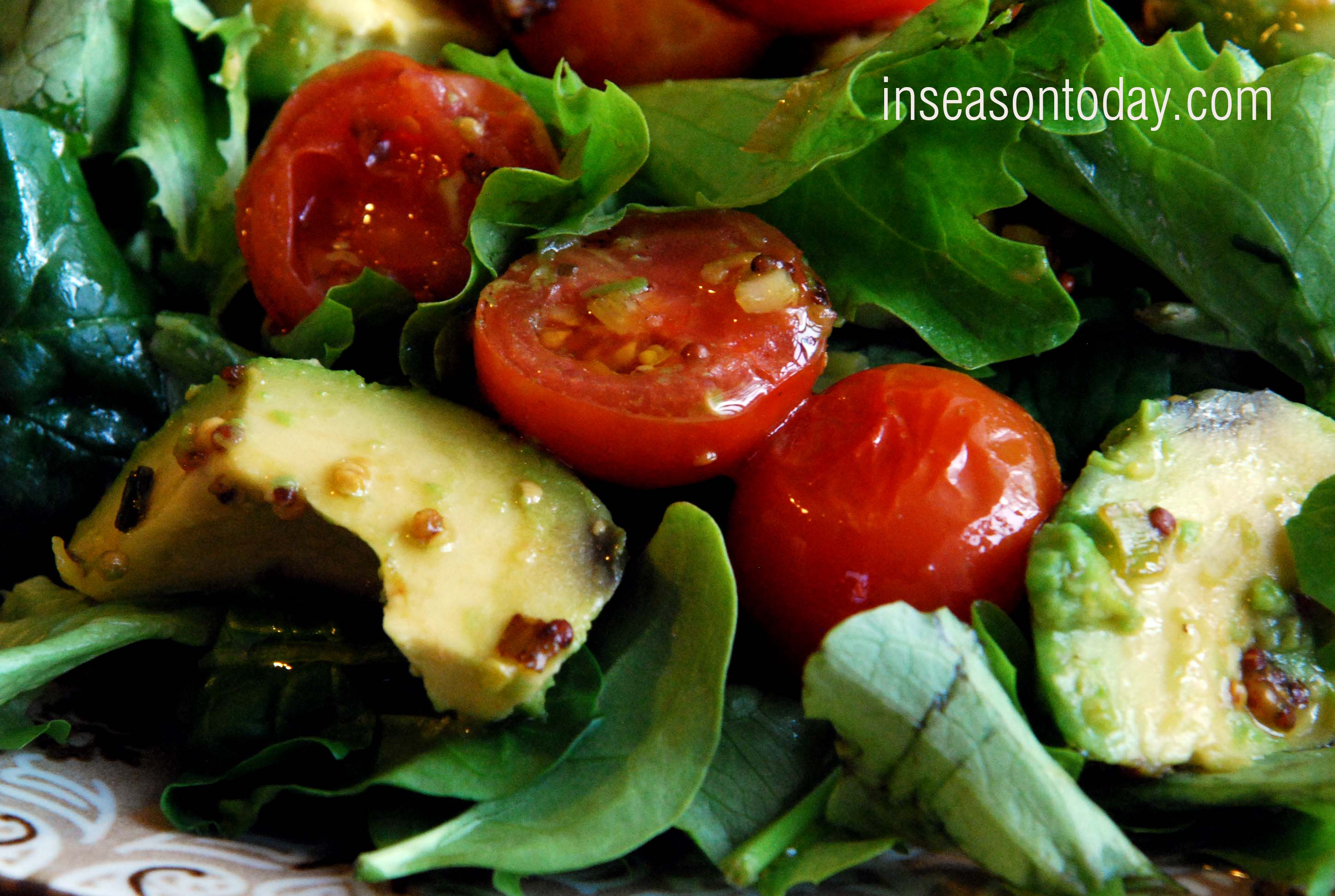 Hot Avocado Salad 3